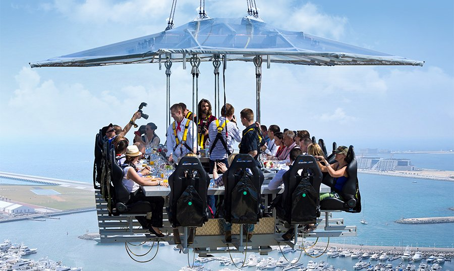 Dinner in the Sky Weekday Packages